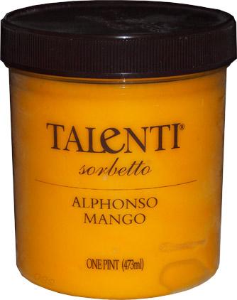 talenti alphonso mango sorbetto pint